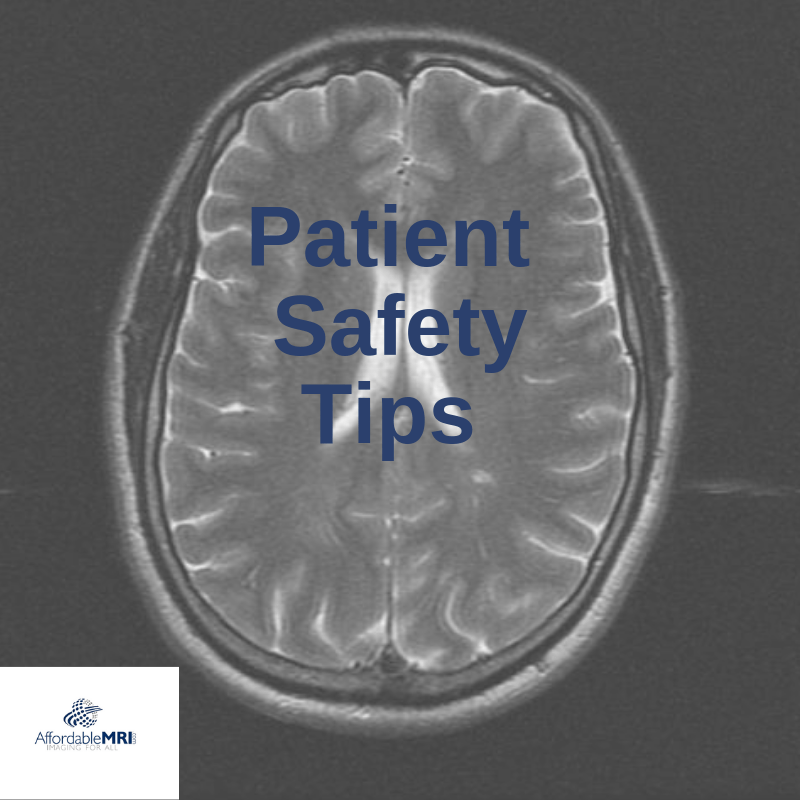 Patient Safety Tips