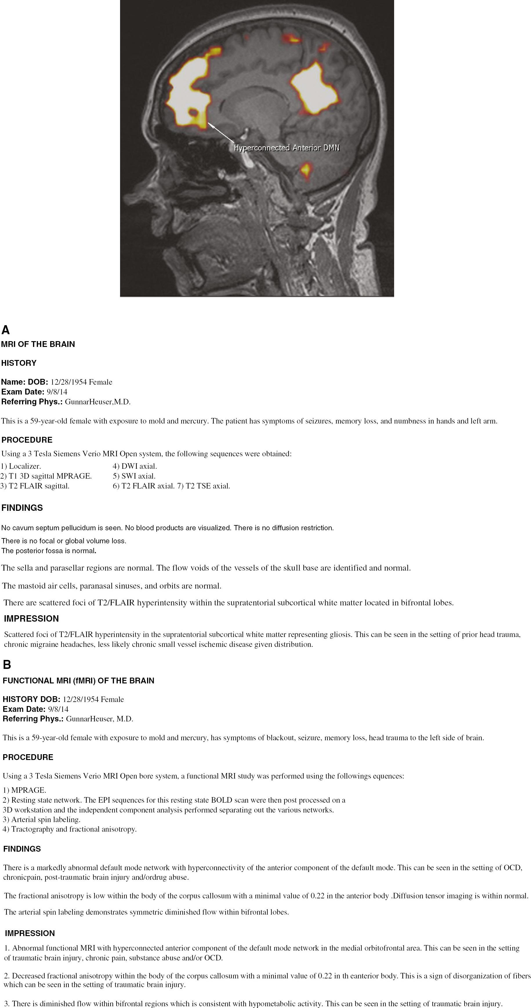 radiologist report